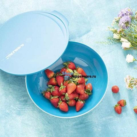 Чаша Аллегро 3,5л в голубом цвете рис.3