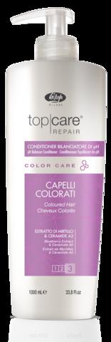 Кондиционер, восстанавливающий нейтральный уровень pH волос и кожи головы после окрашивания – «Top Care Repair Color Care PH Balancer Conditioner» 1000 мл
