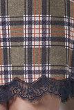 Клетчатое домашнее платье Rebecca & Bros