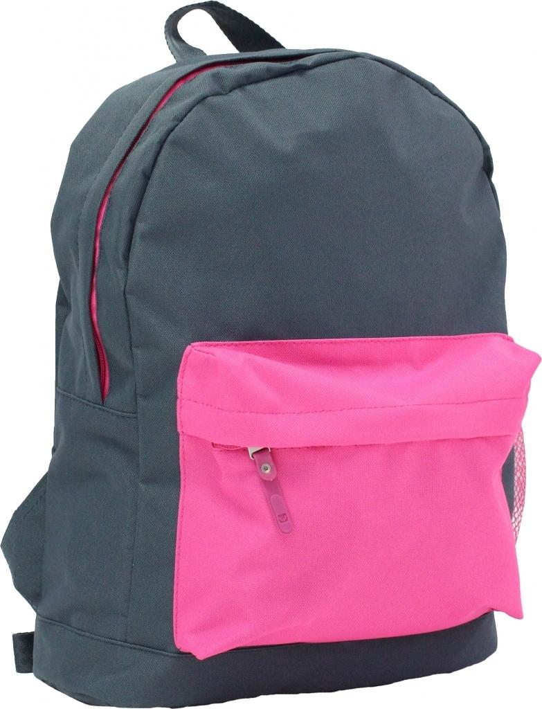 Городские рюкзаки Рюкзак Bagland Молодежный W/R 17 л. Серый/розовый (00533662) dcac84935bdf03e12e3edad0d01ef09c.JPG