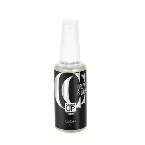 Обезжириватель для бровей и ресниц Clean Up Tonic, CC Brow, 50 мл