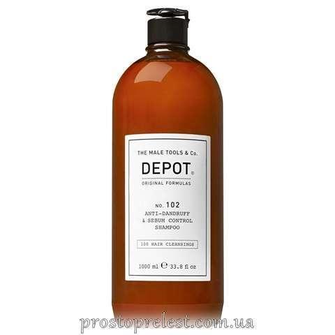 Depot The Male Tools & Co Anti-Dandruff & Sebum Control Shampoo - Шампунь от перхоти и для жирной кожи головы