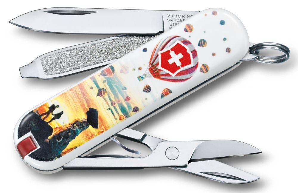 "Нож-брелок Victorinox Classic LE 2018, 58 мм, 7 функций, ""Cappadocia"""