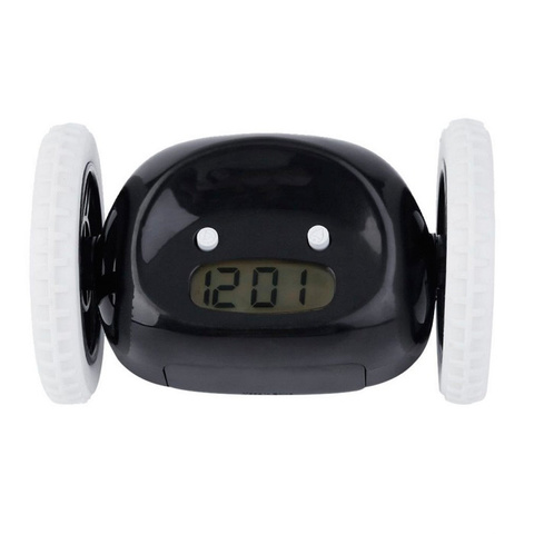 <p>Оригинальный убегающий будильник для тех, кто постоянно просыпае...