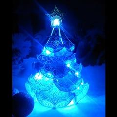 Ель королевская ночник голубая, 20 см