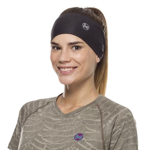 Повязка-чалма летняя Buff Headband Tapered CoolNet Solid Black