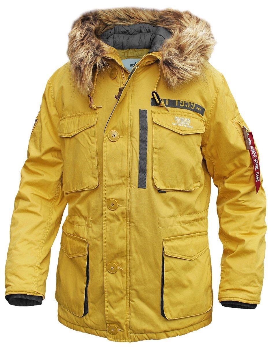 Куртка Зимняя - Mountain Parka (желтая - yellow)