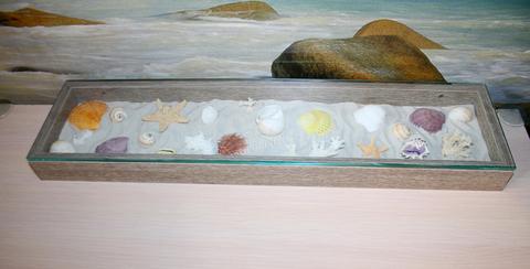 Интерьерная ниша в морском стиле
