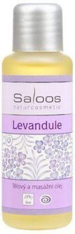 Массажное масло Лаванда, Saloos