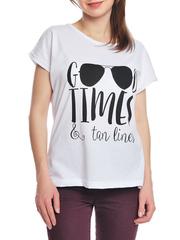 37662-4-1 футболка женская, белая