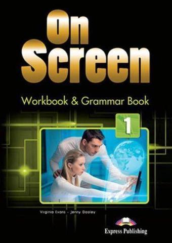 On Screen 1. Workbook & Grammar Book (International) (+DigiBook app). Рабочая тетрадь и грамматический справочник c электронным приложением