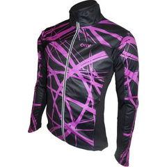 Лыжная ветрозащитная куртка Olly Bright Sport (140305) фиолетовая фото спина