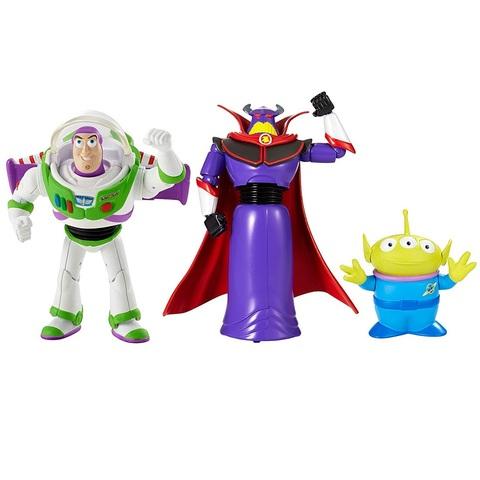 Баз Лайтер, Император Зург и Пришелец. История игрушек