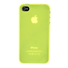 Накладка пластиковая Xinbo для iPhone 4 / 4s ультратонкая ЛАЙМ
