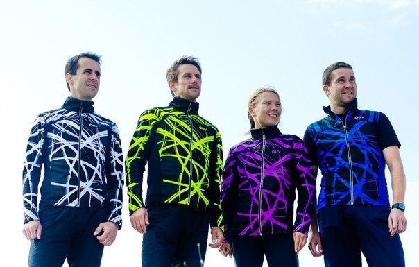 Лыжная разминочная куртка Olly Bright Sport (140305) фиолетовая фото