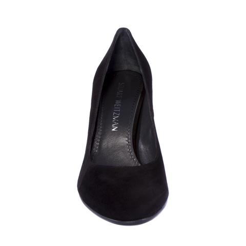 Замшевые туфли Stuart Weitzman на устойчивом каблуке
