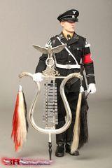 Музыкальный корпус СС фигурка 1/6 Джармен — Musikkorps der SS Glockenspiel & Tambourmajor Jarman 1/6 Figure
