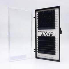 """Ресницы Novasecret NOIR Черные, изгиб """"D+"""""""