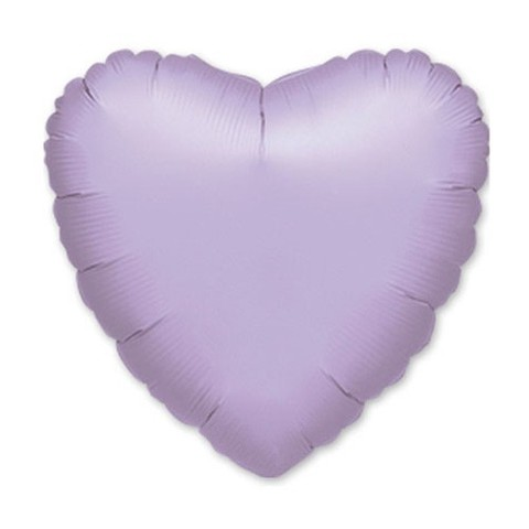 Сердце Пастель, Лиловый (46 см)