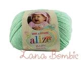 Пряжа Alize Baby Wool мятный 19