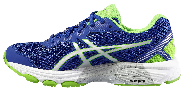 Беговая обувь для детей Asics GT-1000 5 GS синие для бега и занятий физкультурой с амортизацией