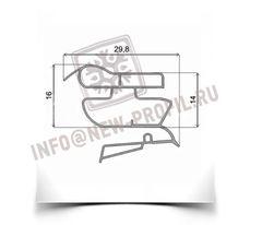 Уплотнитель 101*57 см для холодильника Индезит B18 (холодильная камера) Профиль 022