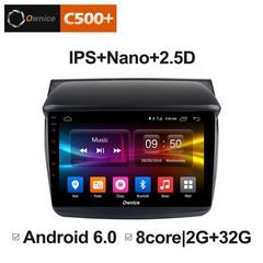 Штатная магнитола на Android 6.0 для Mitsubishi Pajero Sport 08-13 Ownice C500+ S9635P