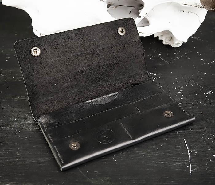 WB185-1 Мужской тонкий клатч из натуральной кожи фото 06