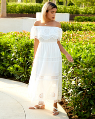 летнее платье в пол купить