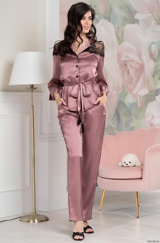 Шелковая пижама Mia-Amore Olivia 3646 (70% нат.шелк)