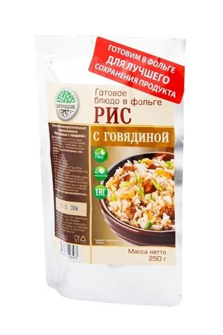 Рис с говядиной 'Кронидов', 250г