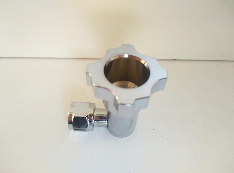 Адаптер (переходник PPS) для краскопультов с боковым бачком, стандартные диаметры