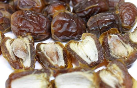 Прекрасная мякоть с карамельно-шоколадным оттенком, как ириска