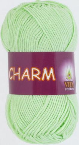 Пряжа Charm (Vita cotton) 4161 Светло-салатовый
