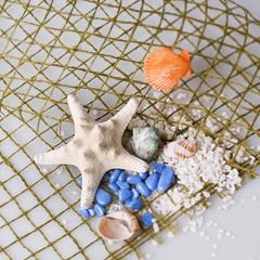 Морская звезда 8-10 см, арт. 7685-2