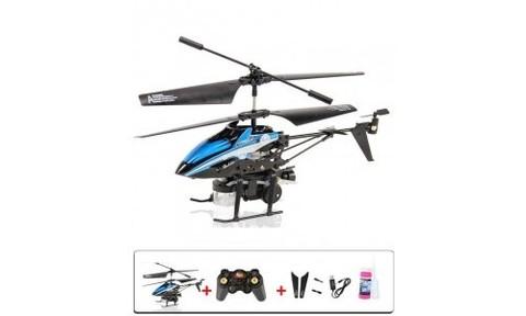 Радиоуправляемый вертолет WL Toys V757 Bubble Gun (пускает мыльные пузыри)