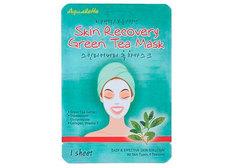 Восстанавливающая маска Aqualette зеленый чай