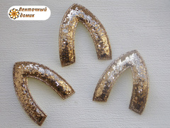 Мягкая заготовка Ушко золотое (опт)