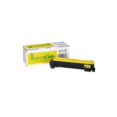 Kyocera TK-540Y - Тонер-картридж для принтеров Kyocera FS-C5100DN. Ресурс 4000 страниц.