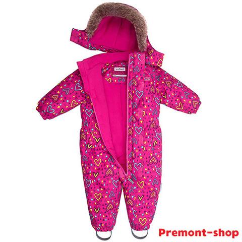 Комбинезон Premont для девочки Малиновый Тимбитс WP81001