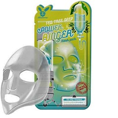 Elizavecca Тканевая маска д/лица Чайное Дерево Tea Tree Deep Power Ringer Mask, 23 мл
