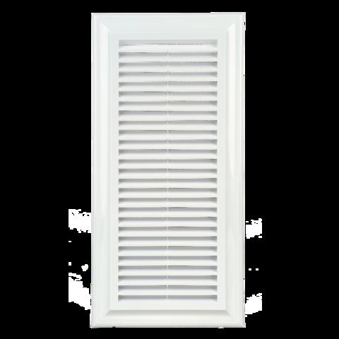 Решетка прямоугольная Blauberg Decor 140*300Rs с ручной регулировкой живого сечения