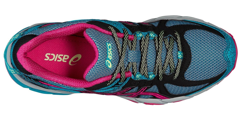 Женские кроссовки внедорожники Gel-Sonoma (T4F7N 5325) голубые фото