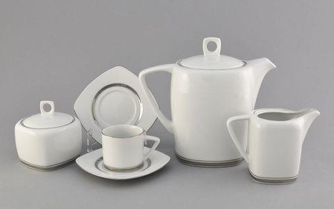Сервиз кофейный 15 предметов Бьянка Leander