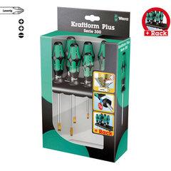 335/350/355/6 Набор отверток Kraftform Plus Lasertip + подставка