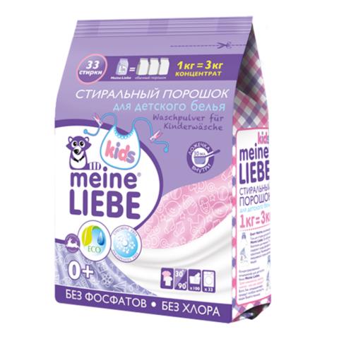 Стиральный порошок, Meine Liebe, для детского белья, 1 кг
