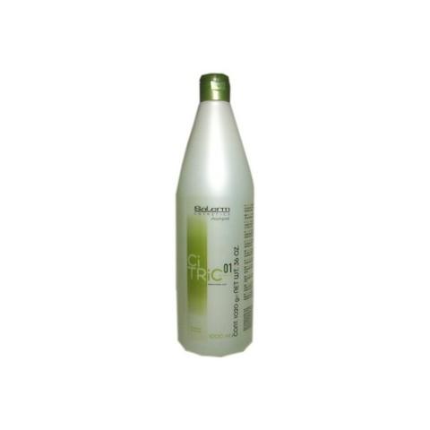 Шампунь для окрашенных поврежденных волос,Salerm Citric ,1000 мл.