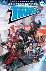 Вселенная DC. Rebirth. Титаны 8-9 / Красный Колпак и Изгои