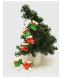 Сапожки-угги новогодние из фетра - Сапожки угги к Новому Году и Рождеству. Одежда для кукол, пупсов и мягких игрушек.