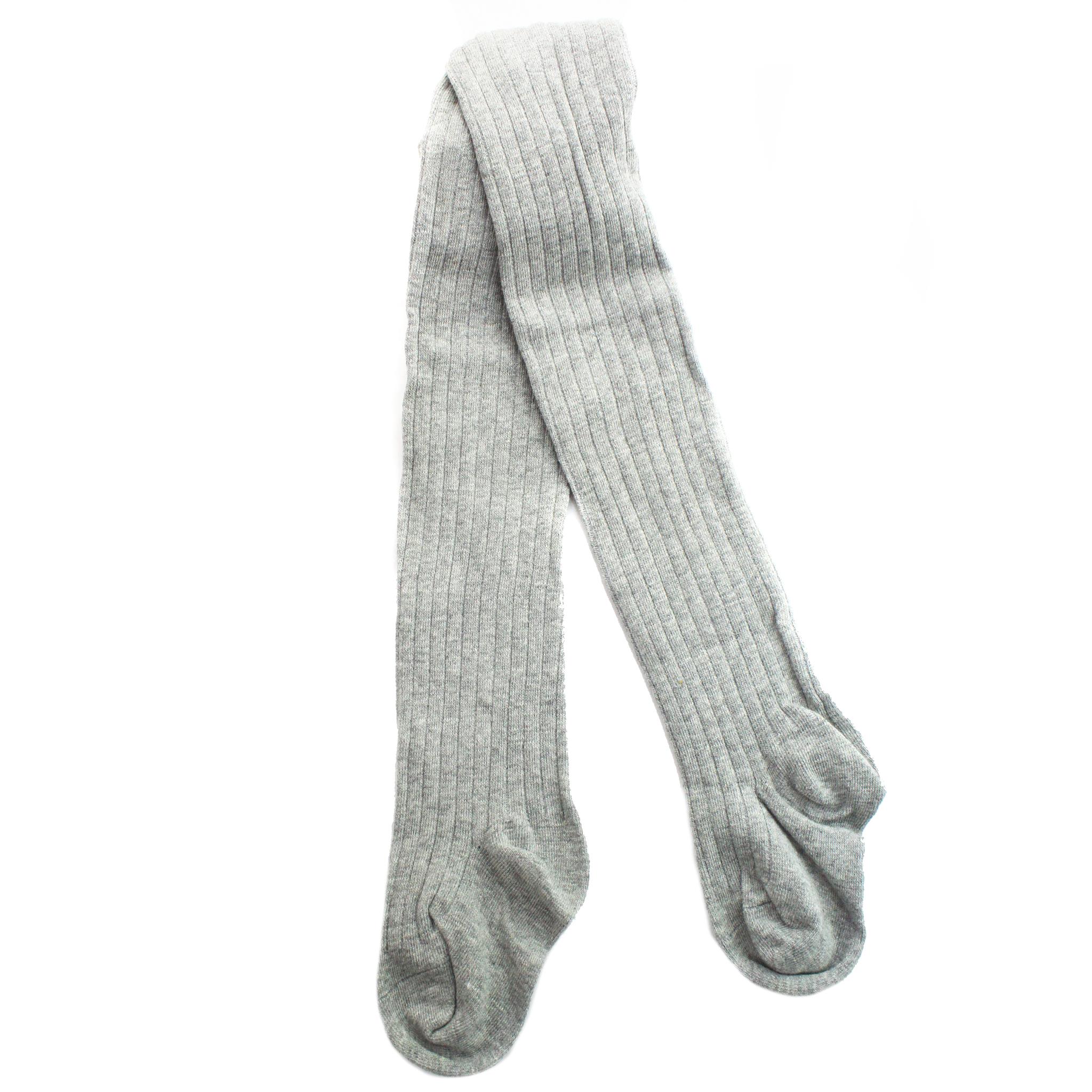 Колготки Рельефные Серые Рост 105 см - 115 см